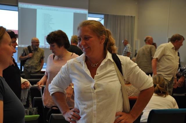 Lantbrukaren Jeanette Blackert från LRF är en av de nya som ingår i nya LAG (Local Action Group).