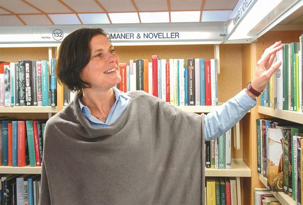 Kulturklimatet är bra, utbudet brett men samarbetet med föreningslivet kan bli ännu bättre, tycker Karin Dahmén som är chef för kultur- och fritidsförvaltningen i Kinda.