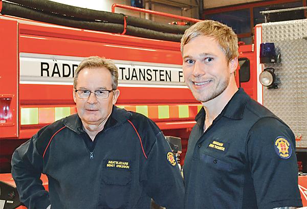 Bengt Eriksson och Jonnie Thomson är utbildade för att hjälpa människor i verklig kris.