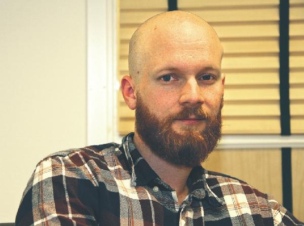 Niklas Westerfjärd är det ensamkommande barnets socialsekreterare i Ödeshög.