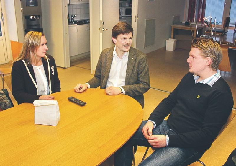 Kommunstyrelsens 1:e vice ordförande Mira Wedenberg (M), östgötske riksdagsledamoten Andreas Norlén (M) och entreprenören från Herrsäters gårdscafé Erik Carlsson, tillika kommunpolitiker (M), genomförde flera studiebesök och möten.