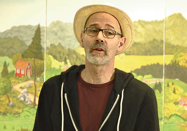 Matte Liegnell är musiker, konstnär och Kindabo sedan många år. Nu har ett antal av hans gåramålningar samlats i en bok.