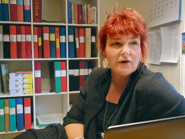 Susanne Eriksson, föreståndare, har mångårig erfarenhet av arbetet på Ria.