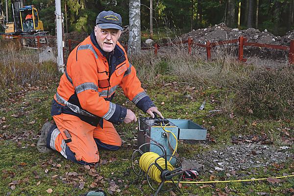 Säkerheten är oerhört viktig vid sprängning, säger Ove Jonsson