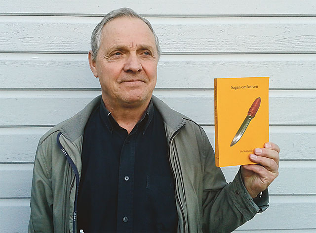 Bo Stolpstedt föreläser om sin bok Sagan om kniven.