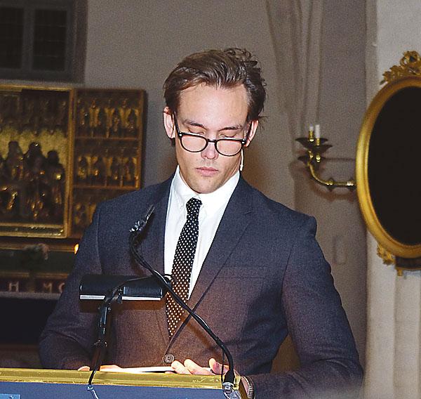 Jacob Severin från myndigheten Forum för levande historia gästade Söderköping även detta år. Han berättade om Aktion T4.
