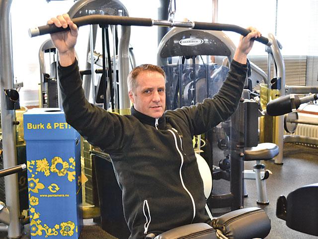 Att träna bort påskmaten hos Mikael Gustafsson är en god idé, men det är förstås bra att hålla formen året om.