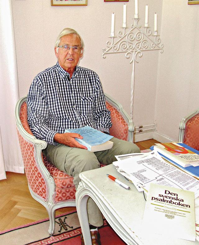 Förre domkyrkoprosten Per Olof Nisser vet det mesta om den svenska psalmbokens historia.