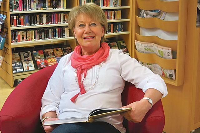 Gen Larsson älskar att läsa, det har hon allt gjort.
