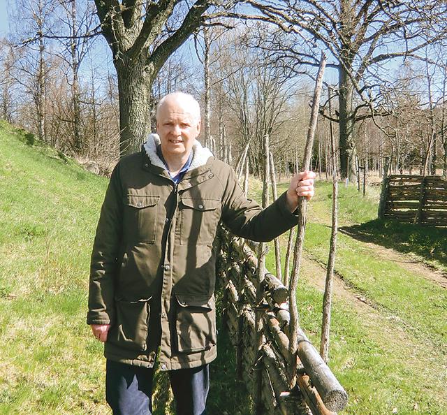 Pär Fransson älskar att vara ute i naturen.