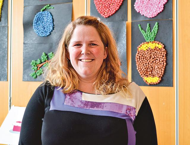 Johanna Regnell, biträdande rektor på Storängsskolan