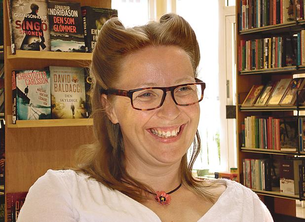 Jenny Aakula betonar återbruket, där ett material eller föremål får en ny funktion.