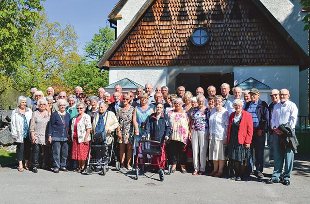 När skolträffarna startade 1975 kom 340 gamla elever, idag är de 47 som samlas för att prata gamla minnen.