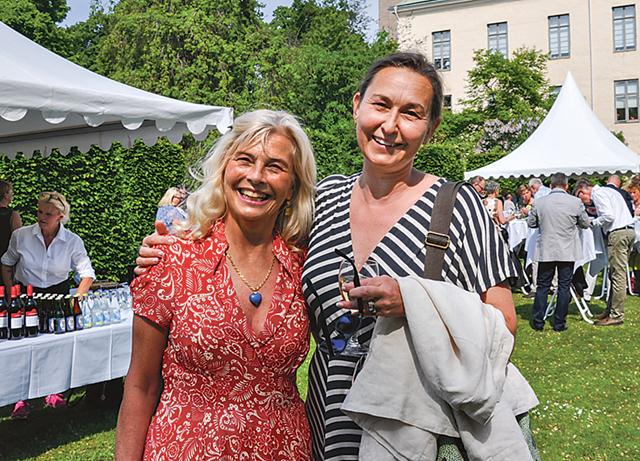 Kristina Ekman, Bjärka Säby och Anna Falkenberg,