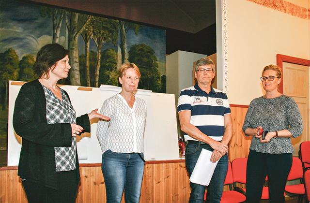 Byggruppen består av Camilla Westling, Susanne Bergeling, Mats Ove Ericsson och Karin Ceder.