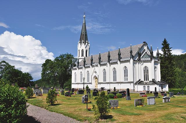 Gärdserums kyrka liknar en katerdral.