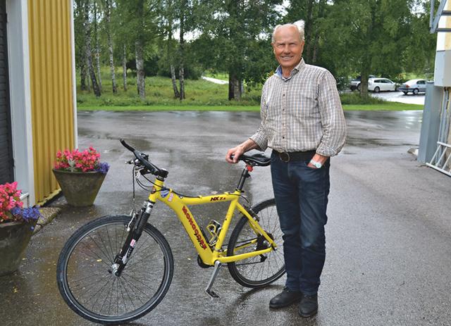 Efter sin tid som kyrkvaktmästare och fotbollsspelare är Per-Inge en välkänd profil i Rejmyre.