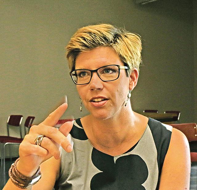 Erika Ask har varit projektledare för att ta fram den nya värdegrunden som arbetats fram under ett och ett halvt års tid.