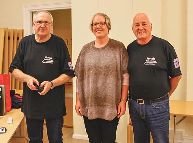 De som höll i trådarna denna kväll var Rolf Magnusson, vice ordförande Elisabeth Fransson Adolfsson och Åke Lindberg.