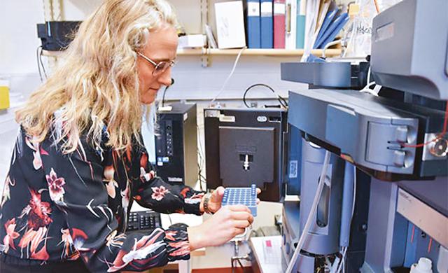 Forskare ska mäta dolda kemikalier i Vättern. Ingrid Ericson Jogsten, Örebro universitet. leder arbetet.