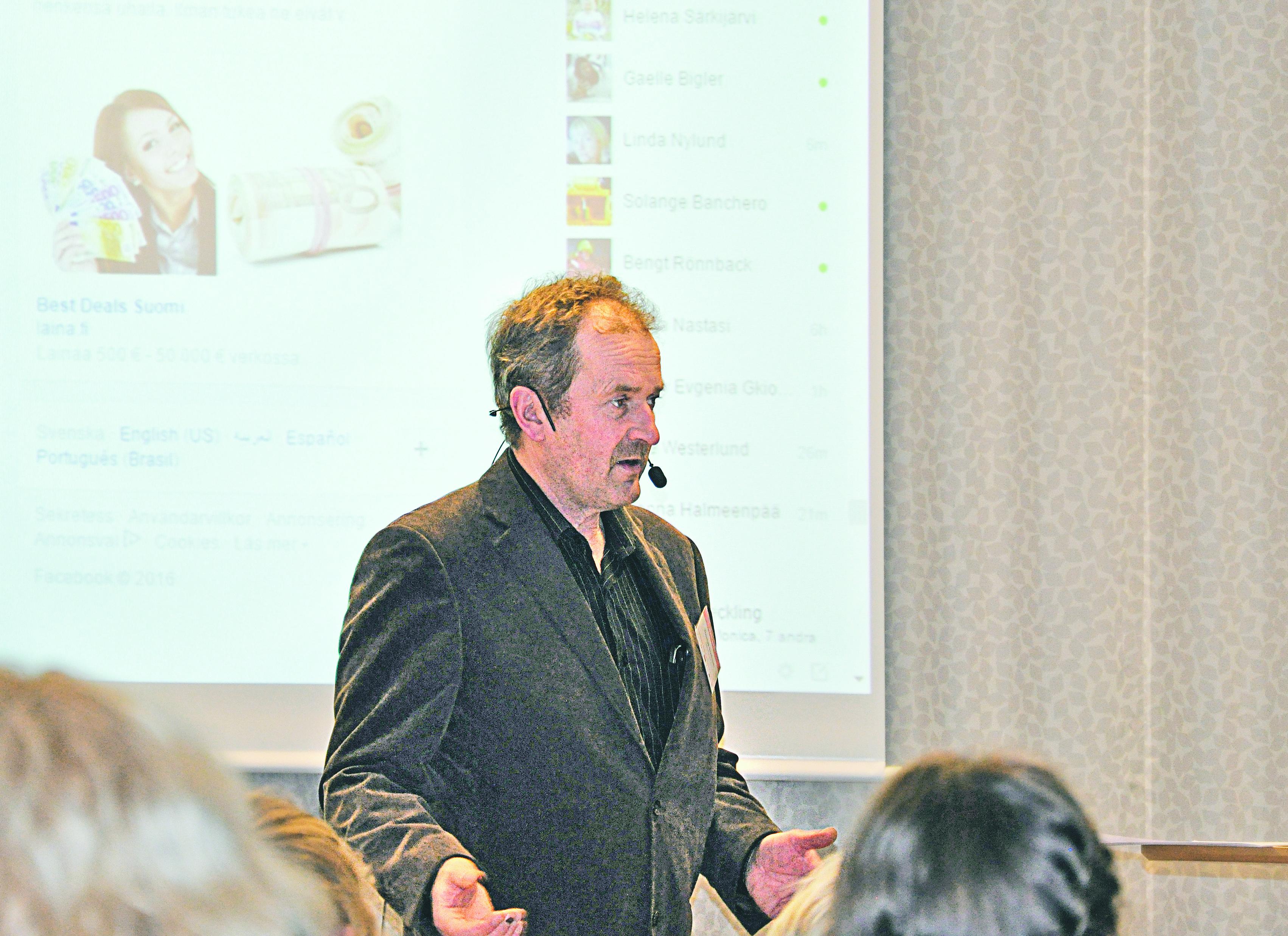 Thomas Snellman är initiativtagare till Reko i Finland och om detta berättade han under en seminariedag på Vreta Kluster.