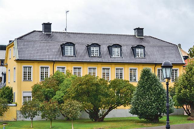Det Ringborgska huset har gästats av övernattande konungar.