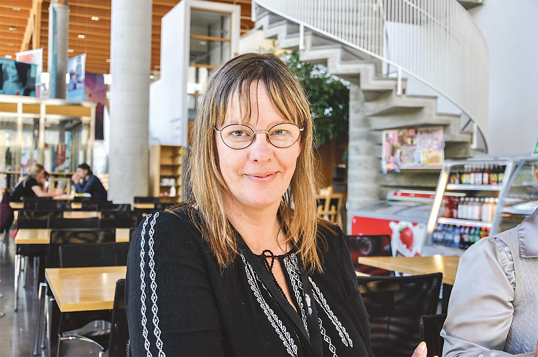 Livscoachen Maria Asplund från High On Life gav en kurs i hur man skapar klarhet och tar sig vidare mot sina mål.