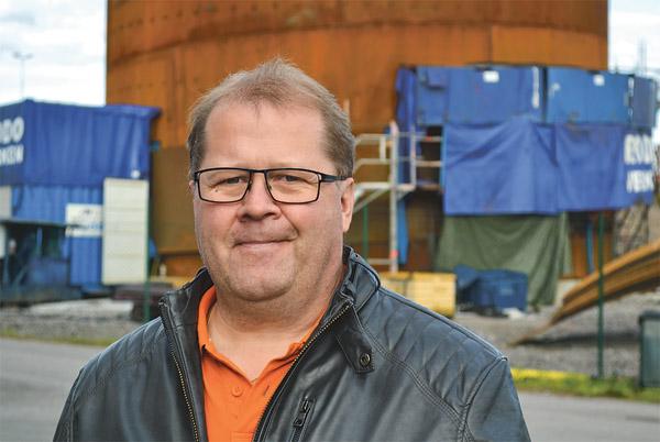 Enkelheten med fjärrvärme lockar, anser Anders Kvist.