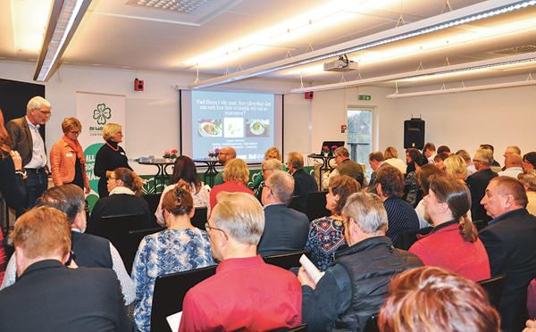Paneldiskussion ledd av Louise Ridderström Alenbrand från Östgötamat.