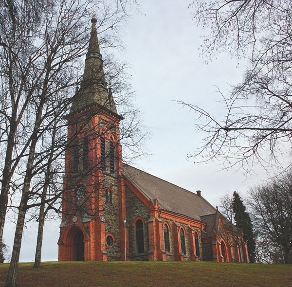 Åtvids stora kyrka stod färdig 1885.