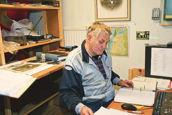 Charles Eriksson är föreståndare för Ödeshögs lokalhistoriska arkiv.