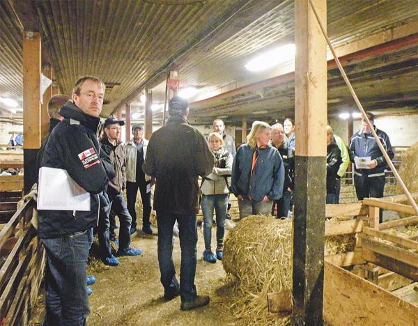 Det var ett 20-tal deltagare på den första lammdagen som var inriktad mot potentiella lammproducenter. Bild: SOPHIA ISBERG