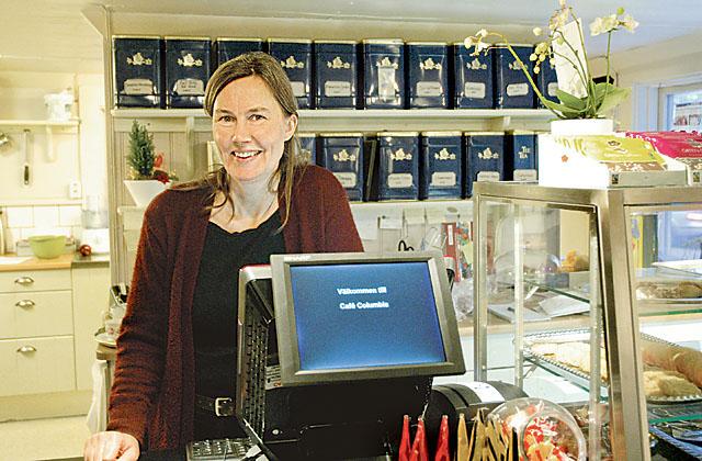 Maria Lindgren tog över Café Columbia i slutet av november 2015. Hon förvaltar ett arv samtidigt som hon vill tänka nytt.