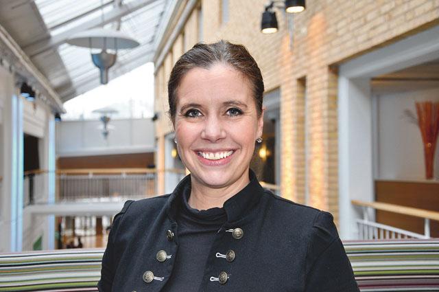 Christina Landoff är vd sedan 2014. Hon arbetar entusiastikst vidare med Skänninges varumärke lokalt och globalt.