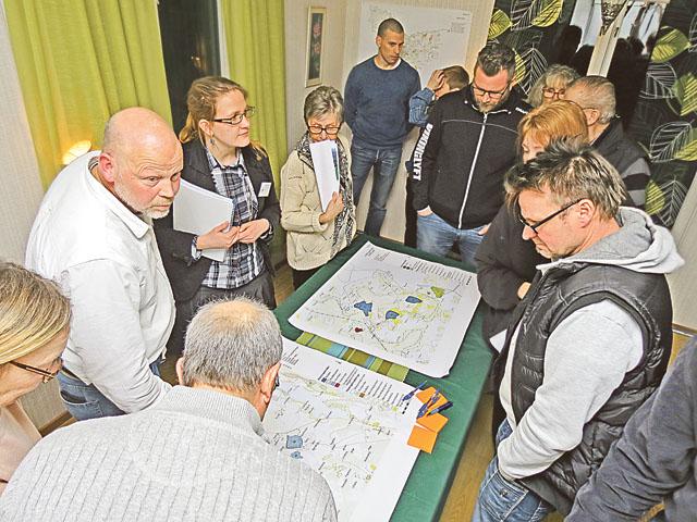 Intresset var stort när förslaget till ny översiktsplan för Valdemarsviks kommun presenterades i Stationshuset i Ringarum.