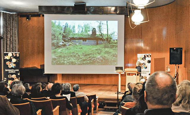 Under kulturmiljöseminariet på Östergötlands museum gavs två väldigt olika men ändå aningen besläktade föredrag.