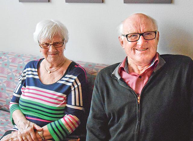 Lilly Holmberg och Sven Johansson har funnit en innerlig gemenskap.
