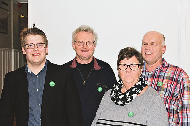 Från vänster: Daniel Engvall, Jan Arvidsson, Lena Berglert och Sten Westberg.