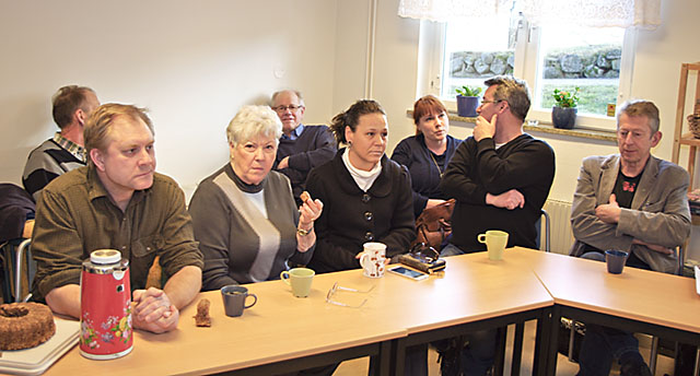 Alliansen bjöd in till information om sin syn på vad som det behöver satsas på i Söderköpings östra kommundel.