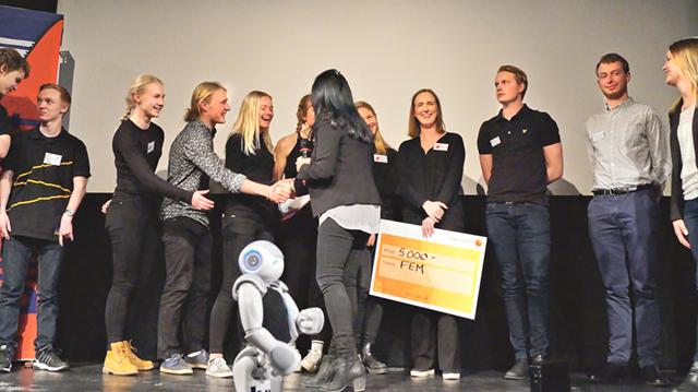 Finalen i den fjortonde upplagan av tävlingen Blixtlåset ägde rum på KTH i Stockholm förra torsdagen