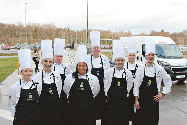 East Culinary Team of Sweden