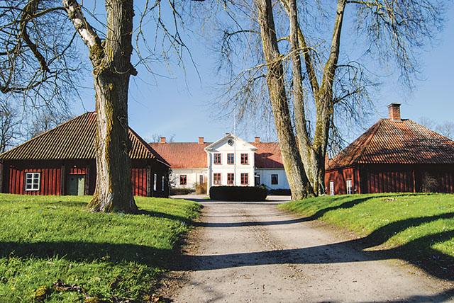 Bo gård – en klassisk bild av en herrgård.