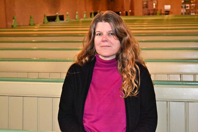 Lena Ohlsson Bohman arbetar som präst i Svenska kyrkan Norrköping, S:t Johannes församling