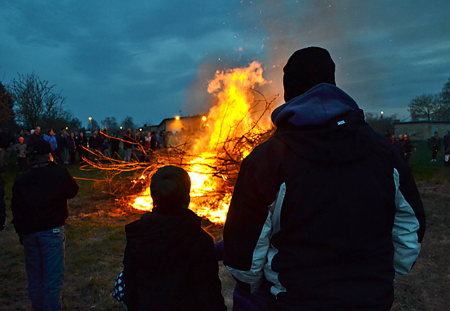 Valborgsfirande i Skärblacka