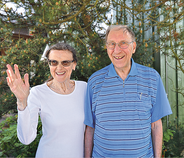 Lillemor och Sven Erlander är sedan många år Linköpingsbor.