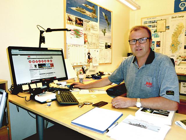 Ted Rydh, enhetschef vid MSEs kraftstationer, har koll på dropparna.