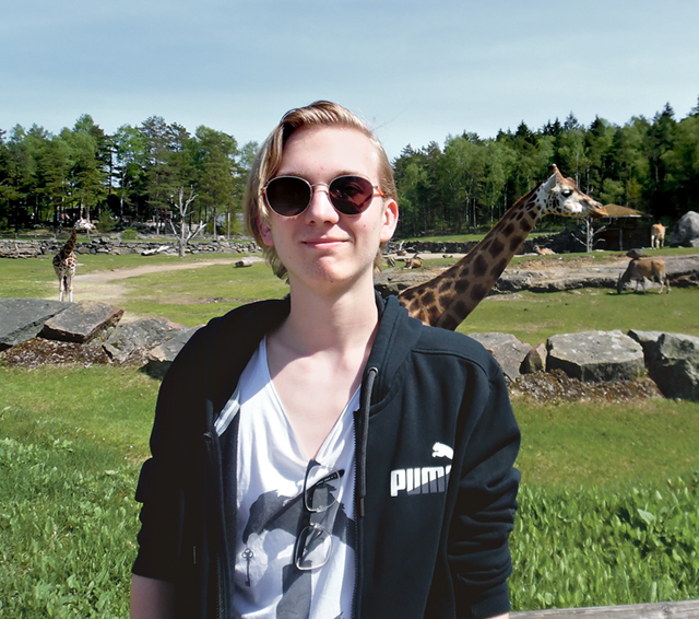 Adam Wass, 16 år och från Mjölby, vill gärna bli djurskötare.