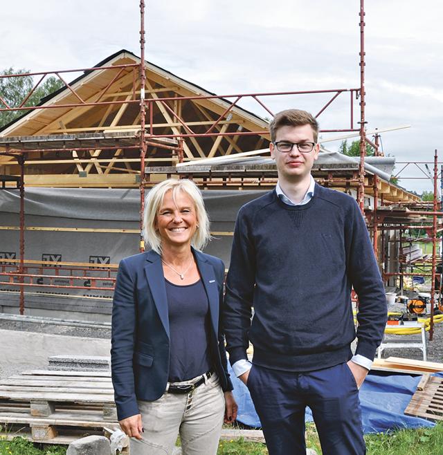 Jessica Steen, kontorschef på LRF konsult i Linköping, och Jesper Vamborg, redovisningskonsult på samma företag, presenterade Lönsamhetsbarometern.