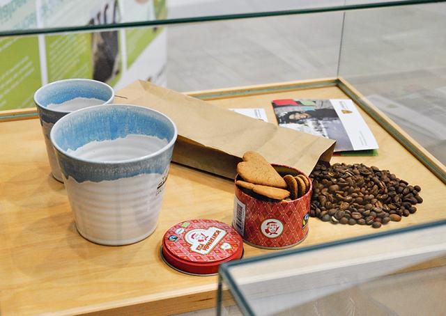 Fairtrademärkta produkter.