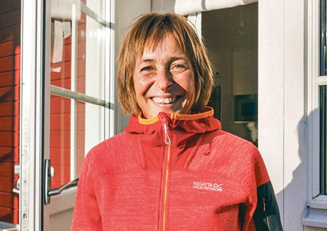 Glada och trevliga Therese Lindquist är Boxholms kommuns senaste världsmästare.